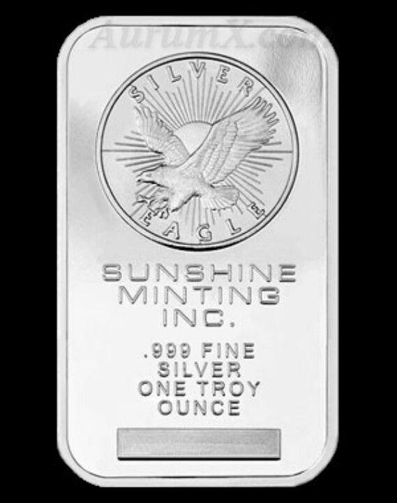 Sunshine mint 1 oz bar