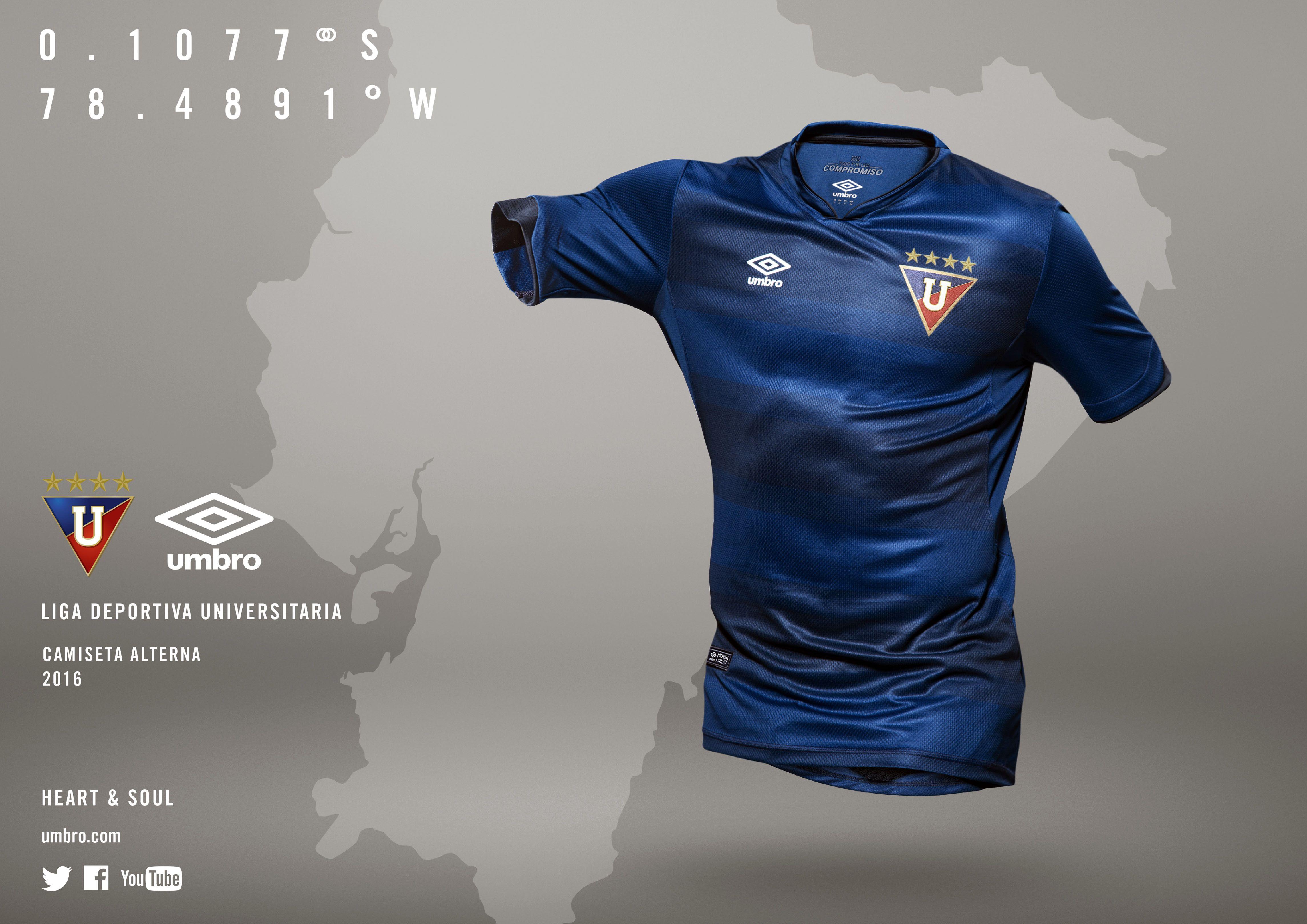 e7f8e5e6cc696 Portal internacional asegura que el uniforme de Liga es el más lindo de la  Libertadores.   Hablemos de Fútbol - Noticias del Campeonato Ecuatoriano de  ...