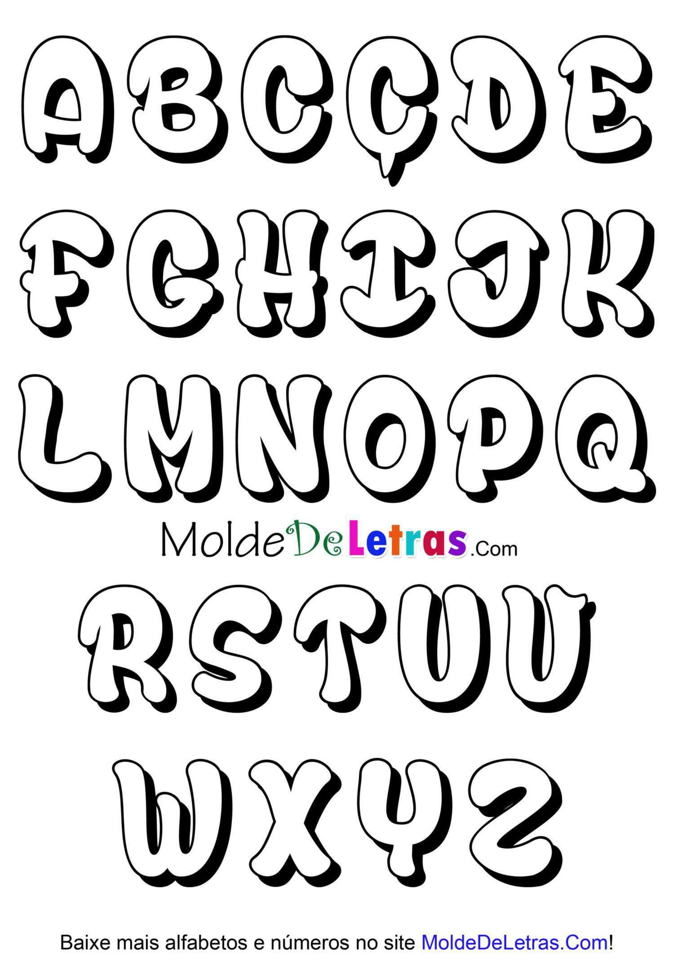 18 Letras cursivas para letreros