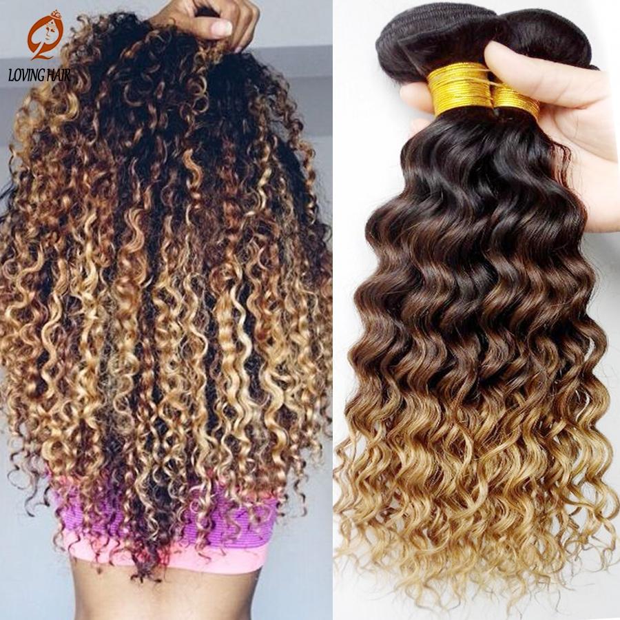 (26.00$)  Buy here  - 7A Deep Peruvian Curly Virgin Hair Weave,Peruvian Deep Wave Virgin Human Hair Bundles1Pcs Lot,Peruvian Ombre vrigin hair