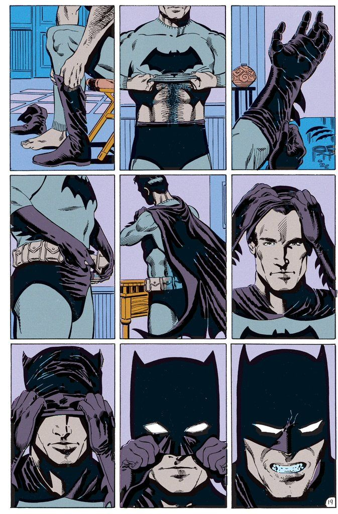 Batman From Legends Of The Dark Knight 1 By Edward Hannigan And