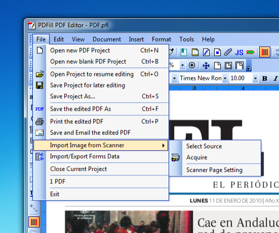 PDFill PDF Editor Offline Installer Download Editable