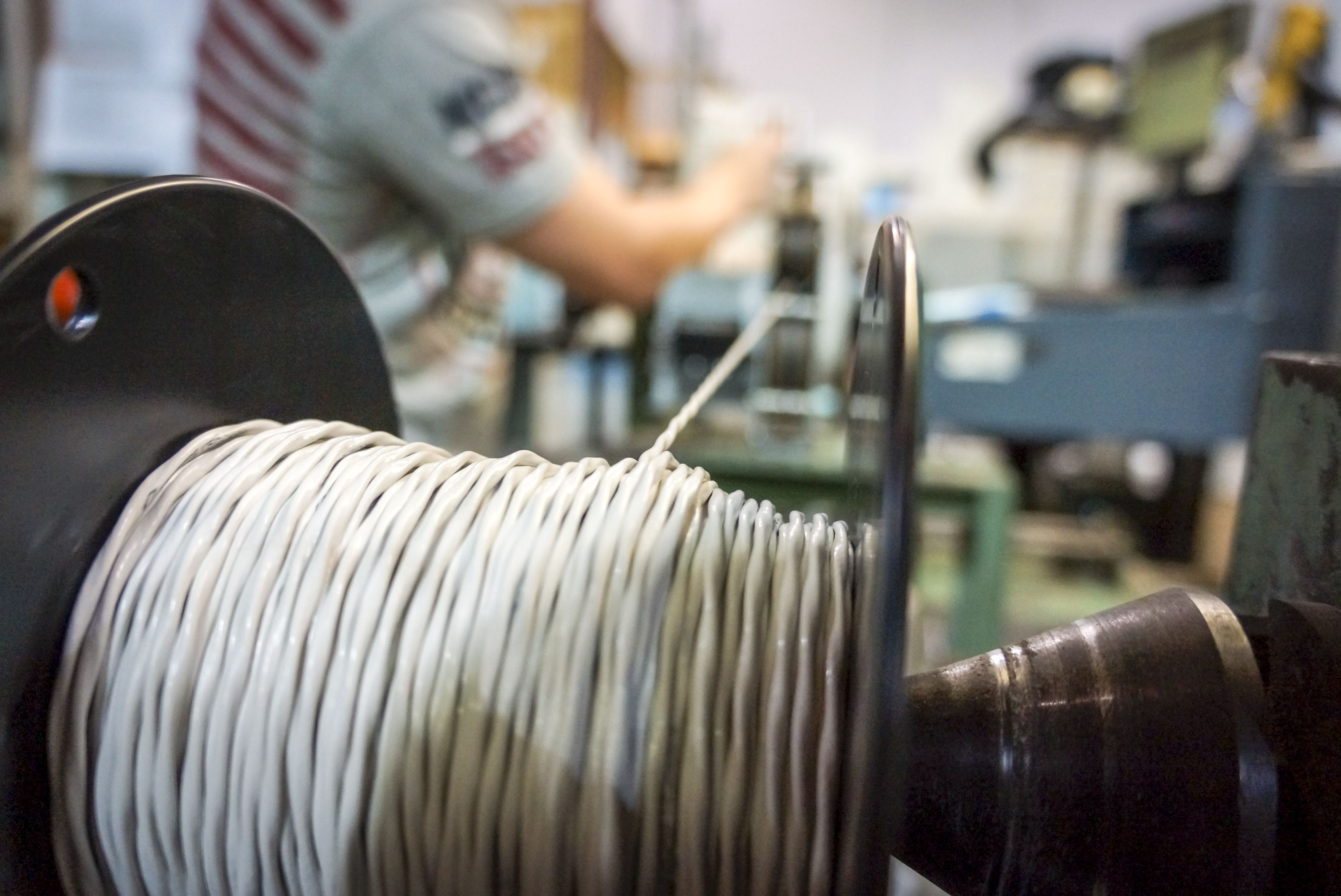 Spool Wire Receipt - WIRE Center •