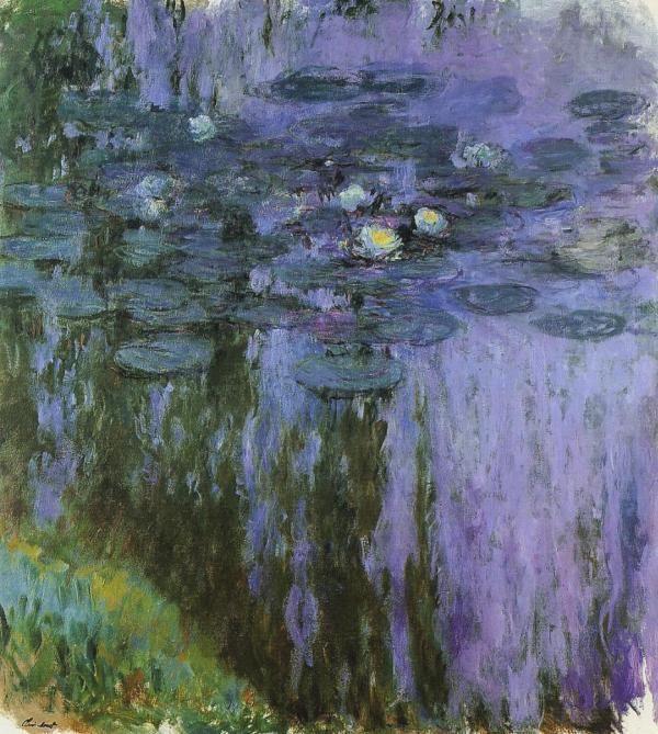 Nymphéas, Claude Monet