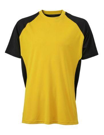 Competition Team t-shirt i svedtransporterende og hurtigtørrende TOPCOOL® polyester. Få klub- og sponsologoer påtryk.