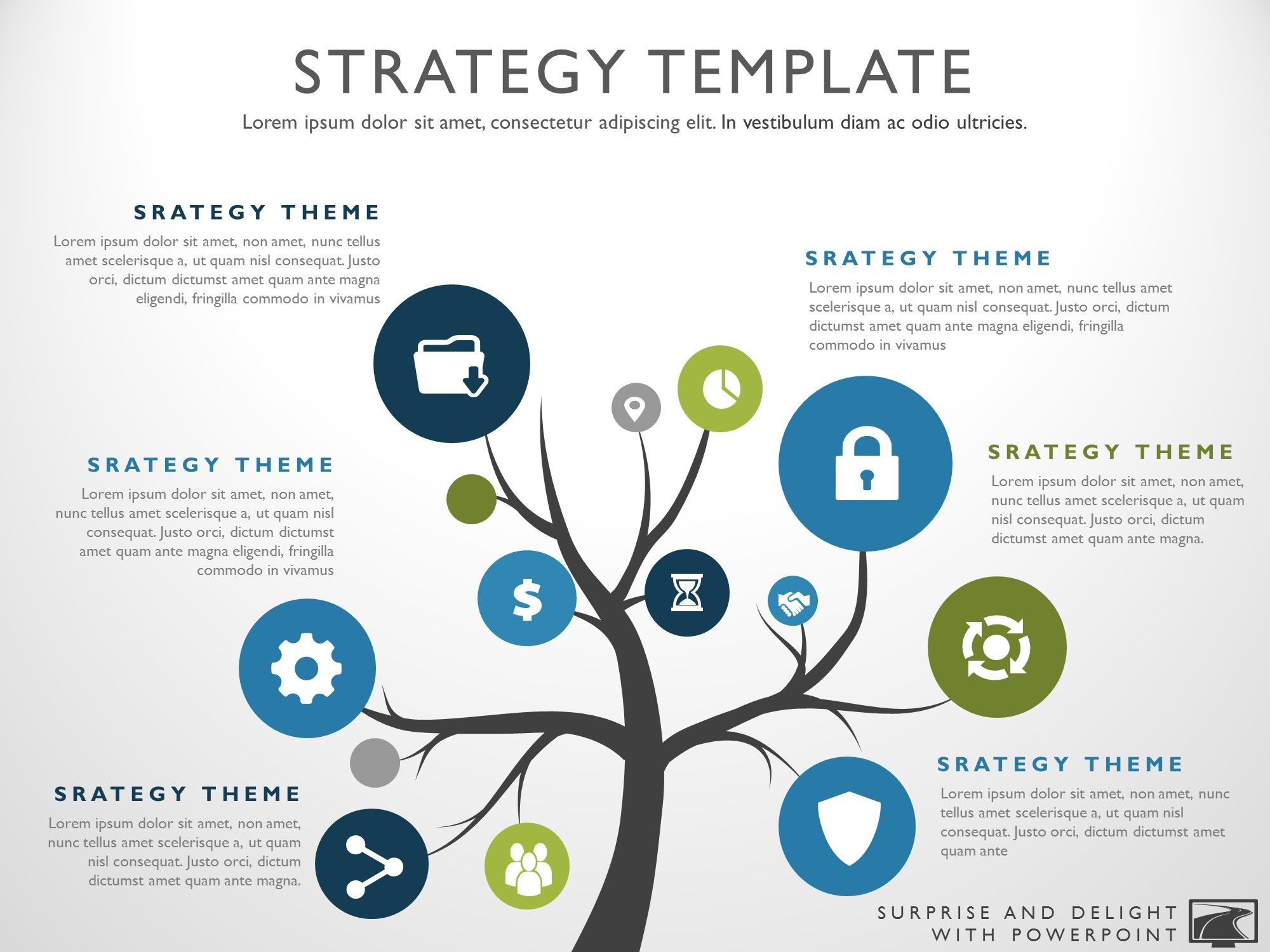 Product Strategy Template | Product Strategy Template Strategy Pinterest Templates Ppt