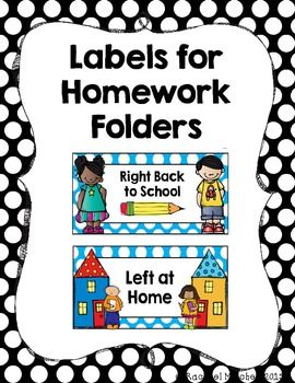 Excellent Left At Home Right Back To School Labels For Homework Home Interior And Landscaping Ymoonbapapsignezvosmurscom