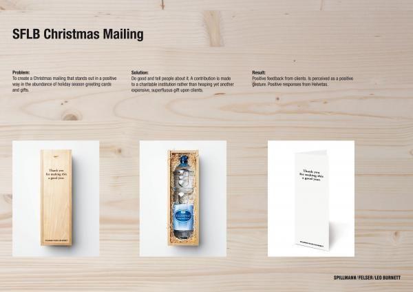 X-MAS MAILING, Advertising Agency, Spillmann/felser/leo Burnett, Zurich, Print, Outdoor, Ads