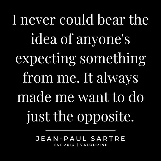 '59 | Jean-Paul Sartre Quotes | 190810' Poster by QuotesGalore #jeanpaulsartre