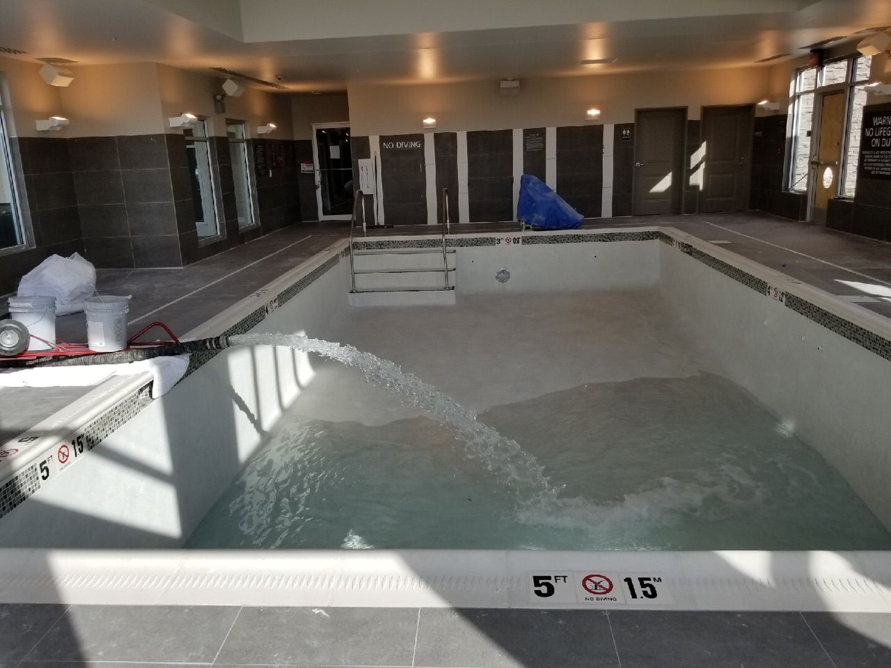 It Was Great To Fill The Pool At The Residence Inn In Bolingbrook Bulk Water Delivery Www Gasawayco Com Residence Inn Water T Swimming Pools Pool Home