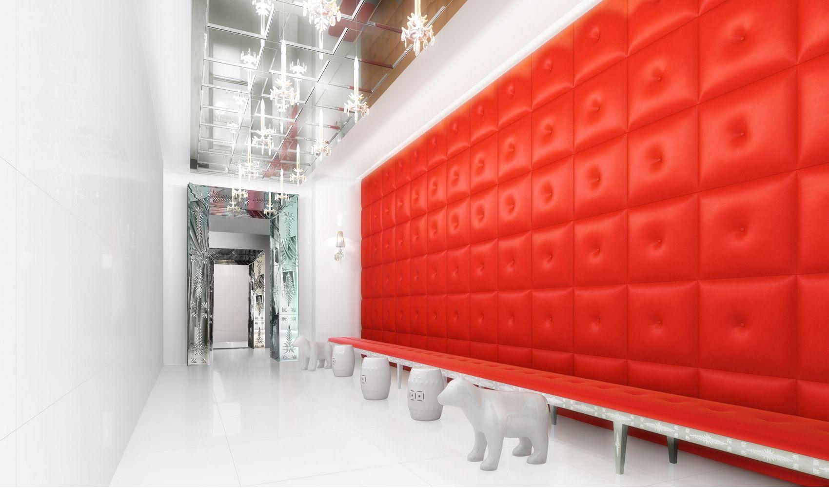 Large yoo berlin lobby 1000 ccf29 designer philippe for Hoteles diseno berlin