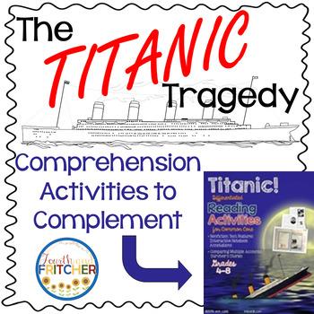 Titanic Comprehension Activities In