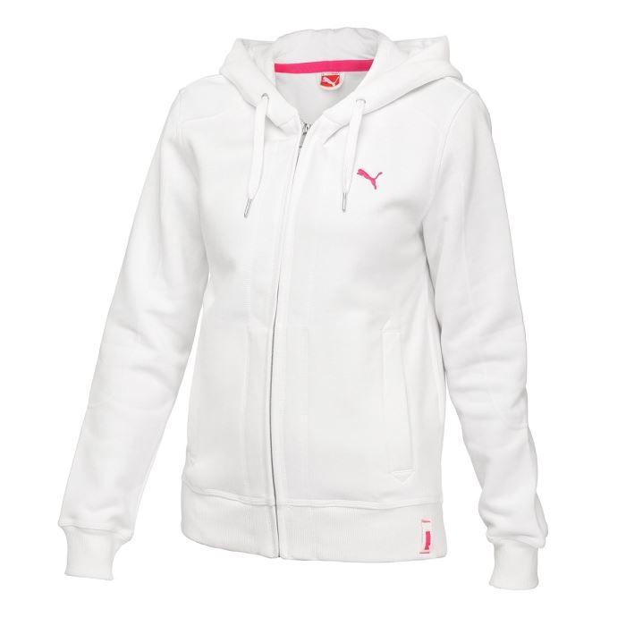 veste puma blanche