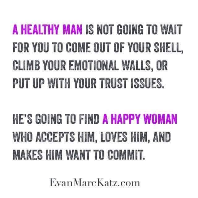why are guys afraid of commitment