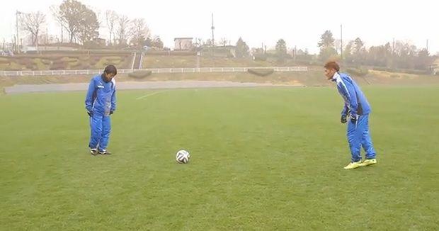 Mondiali Brasile 2014, i calciatori giapponesi copiano Holly e Benji!