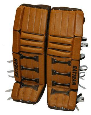 Battram Fury Retro Goalie leg pads  Nice  | Cool Hockey Equipment