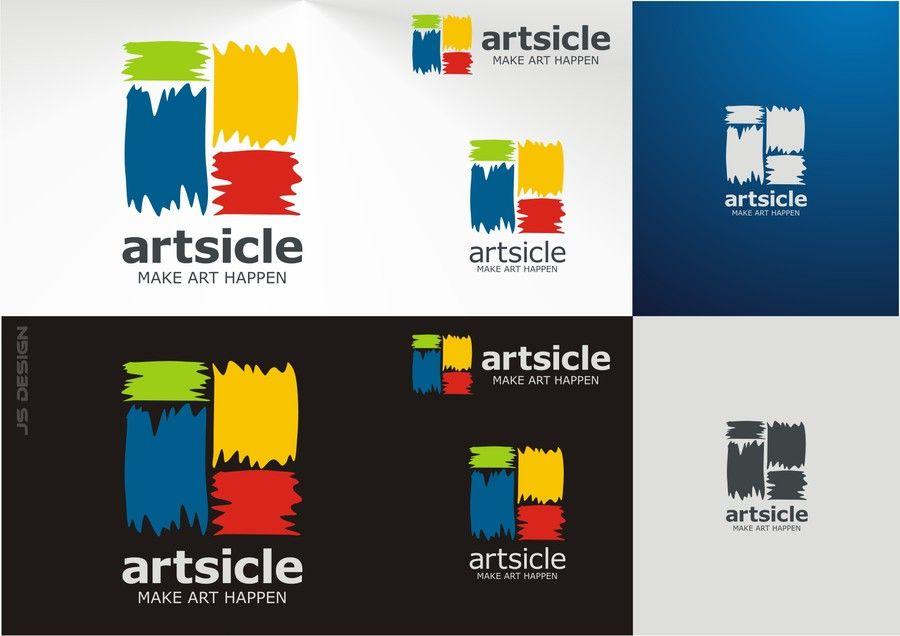 Logo for Web Art Startup. Help Us