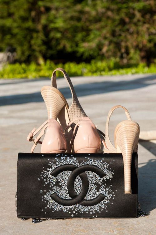 Adrienne Maloofs Chanel Bag And Shoes Photographed By The Coveteur