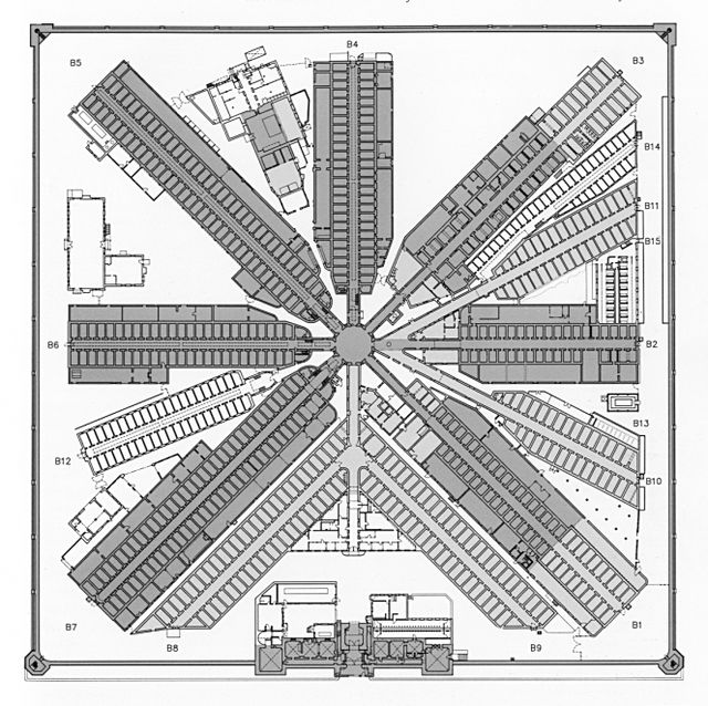 Prison blueprint la palimpsest pinterest prison blueprint malvernweather Choice Image