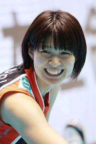 満面の笑みの木村沙織のかわいい画像