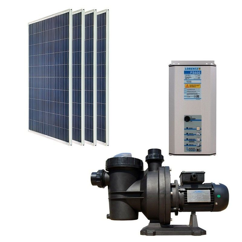 Sustainable Solar Powered Pool Pump Solar Power Kits