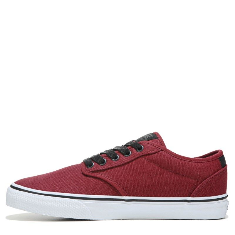 2e9832aa706767 Vans Men s Atwood Deluxe Ultra Cush Sneakers (Oxblood Red White)