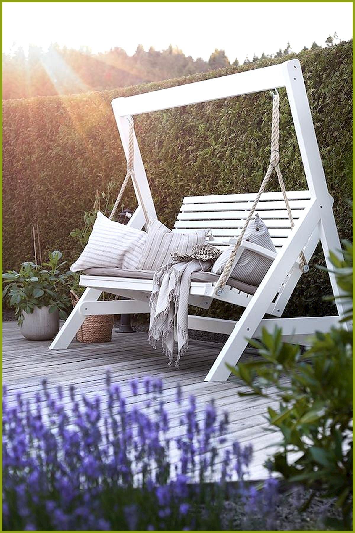 porch swings in 2020 diy garden furniture garden on porch swing ideas inspiration id=68626