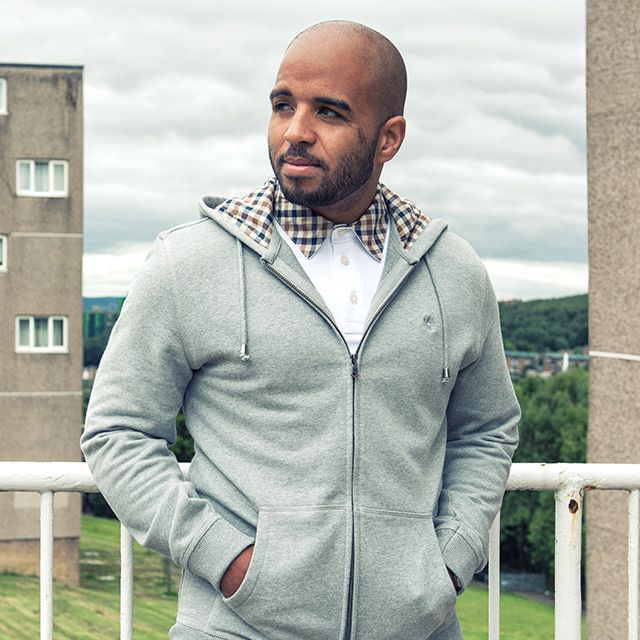 Andrew Shim in some '90s inspired Aquascutum from scottsmenswear.com