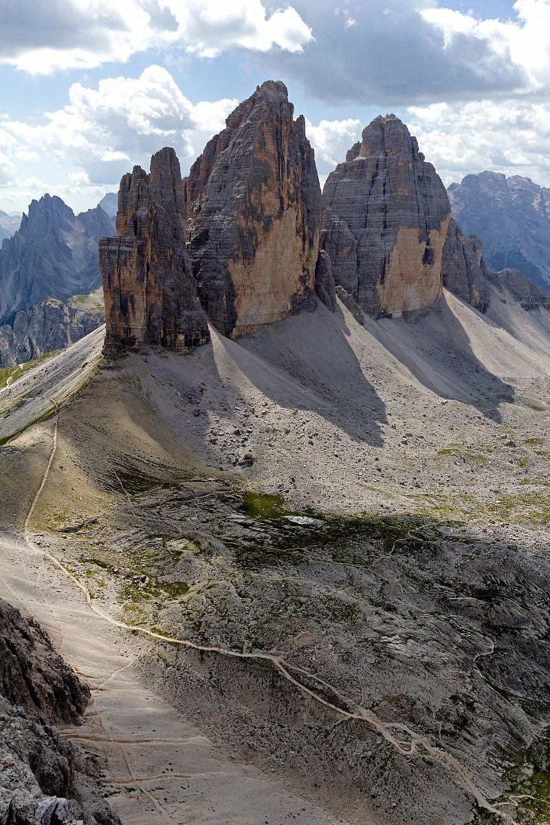 Tre Cime di Lavaredo, Dolomites, Veneto/Trentino Alto-Adige, Italy ...