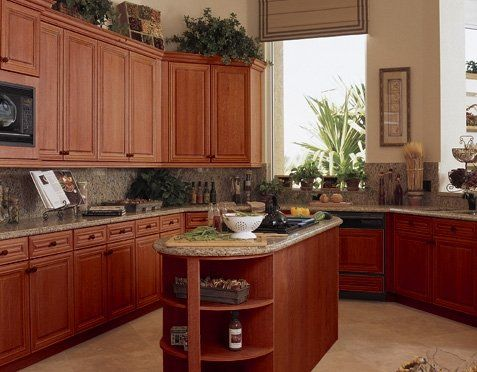 Image Detail For Kitchen Cabinet Products Buy Cherry Wood Custom Cherrywood Kitchen Designs 2018