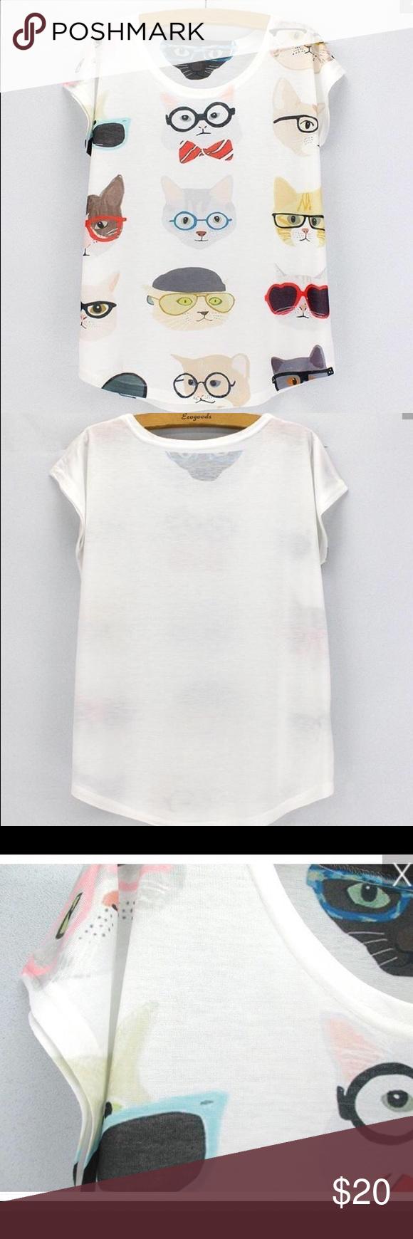 Whimsical Cat Shirt Clothes Design Fashion Design Fashion