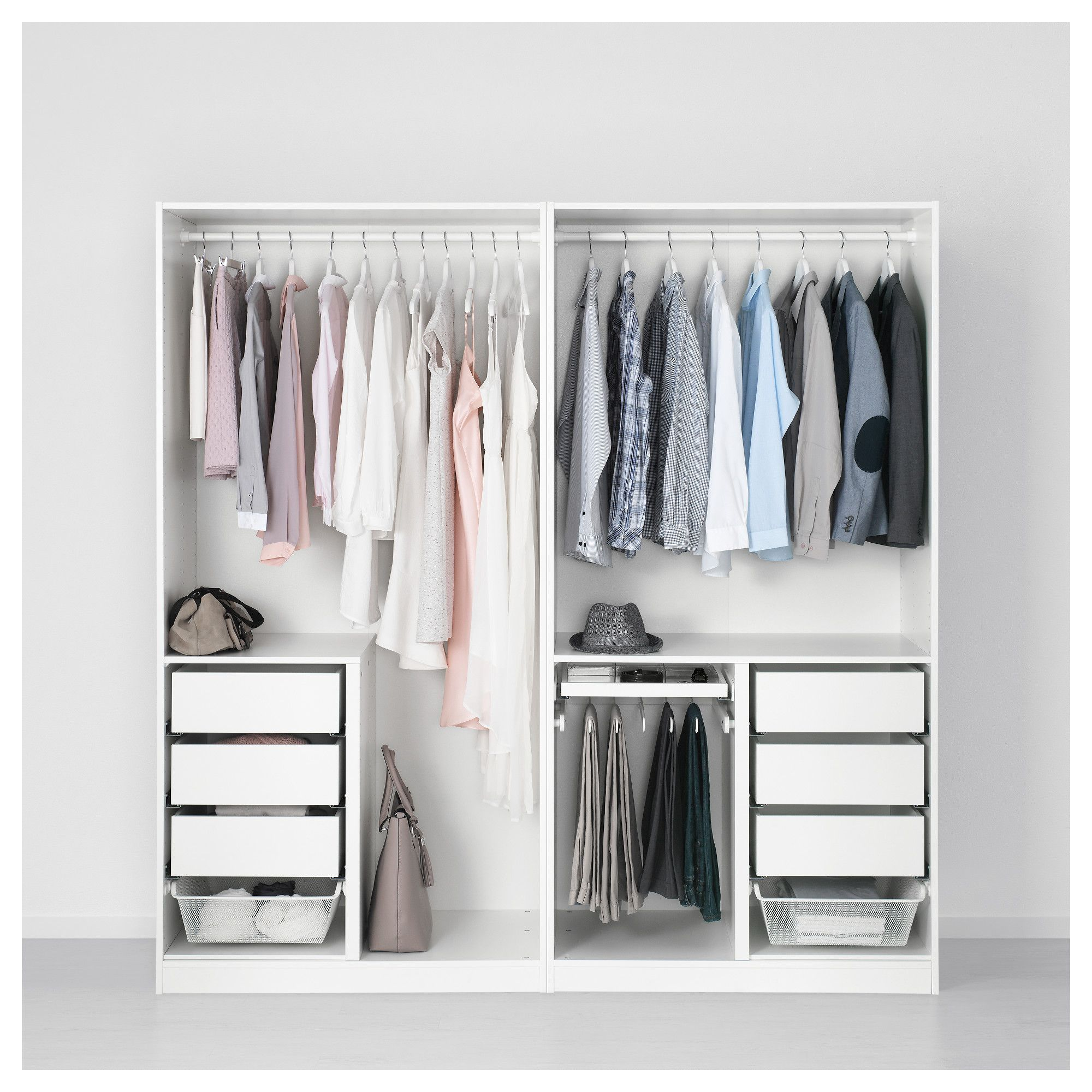 Ikea Zimmerplaner Ikea Pax Wardrobe White Forsand Vikedal In 2019 Products