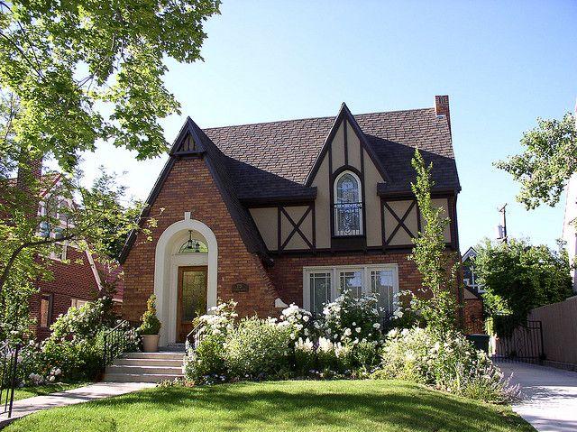 Cute Little Cottage Tudor Style House And Tudor House