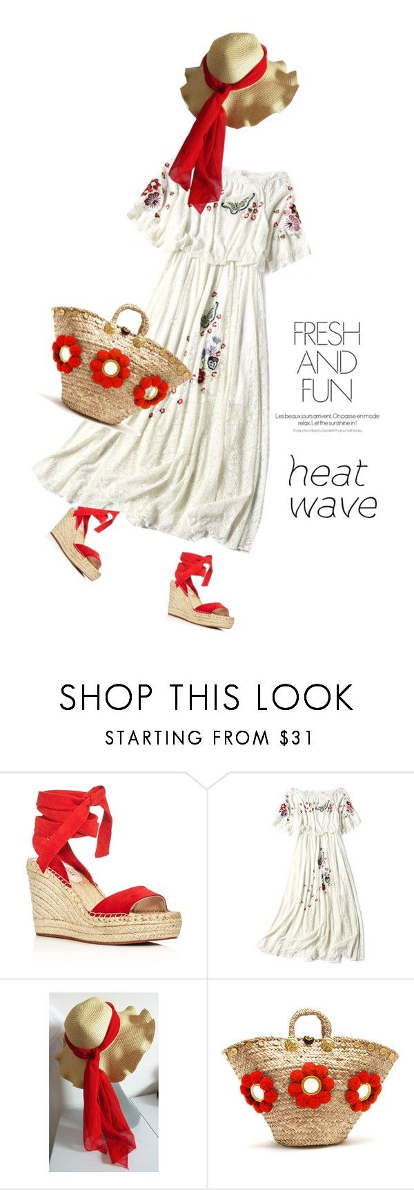 """Fun And fresh #767"" by meryflower ❤ liked on Polyvore featuring Kenneth Cole, Muzungu Sisters and heatwave"