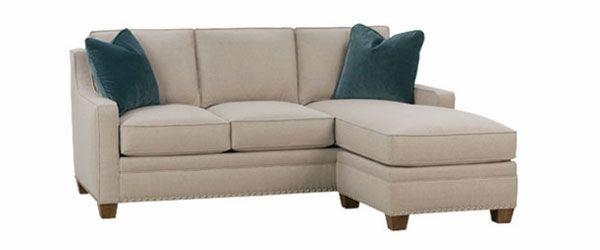 Admirable Addison Apartment Size Full Sleep Sofa Reversible Chaise Creativecarmelina Interior Chair Design Creativecarmelinacom