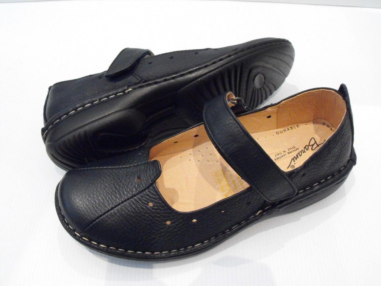Cooperative Dansko Black Leather Clogs Womens Size 37 Fancy Colours Women's Shoes