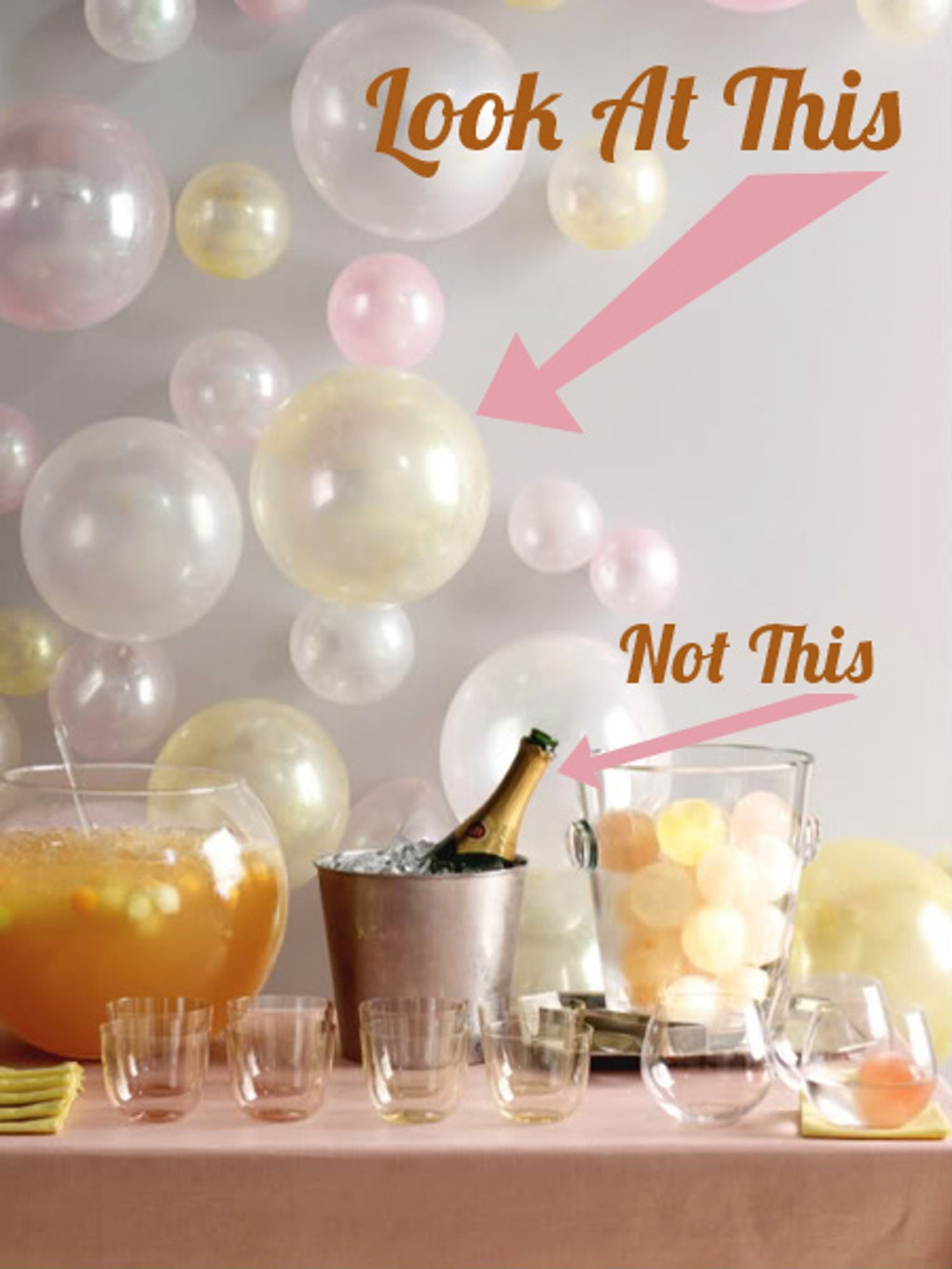 Simple & Sleek Bubble Wall Decor | Wall decor, Martha stewart and ...