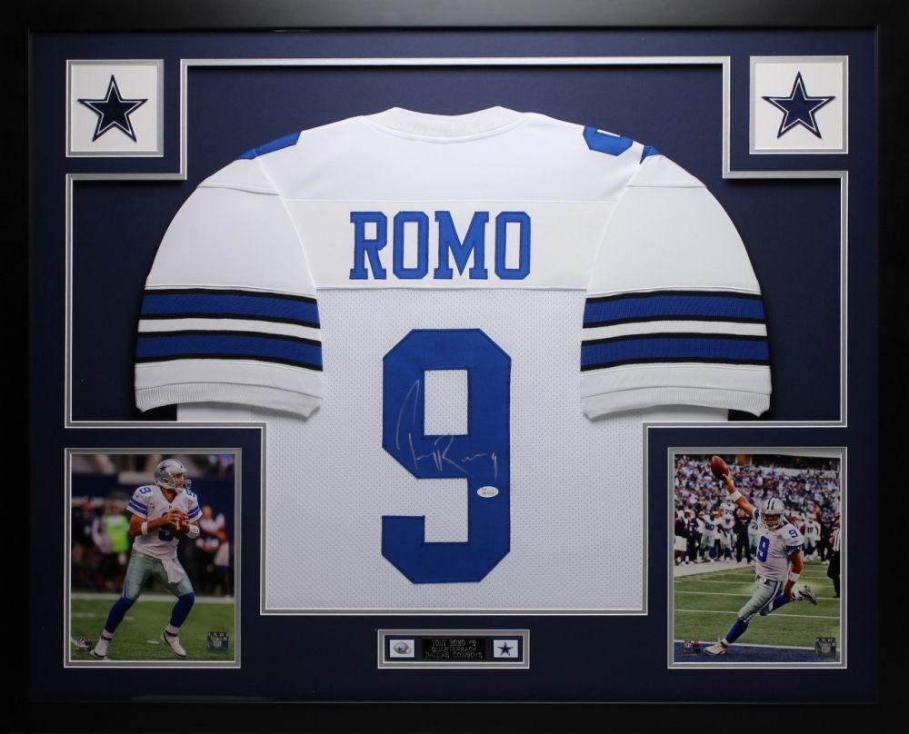 9aac7dc1e24 Tony Romo Signed Cowboys 35