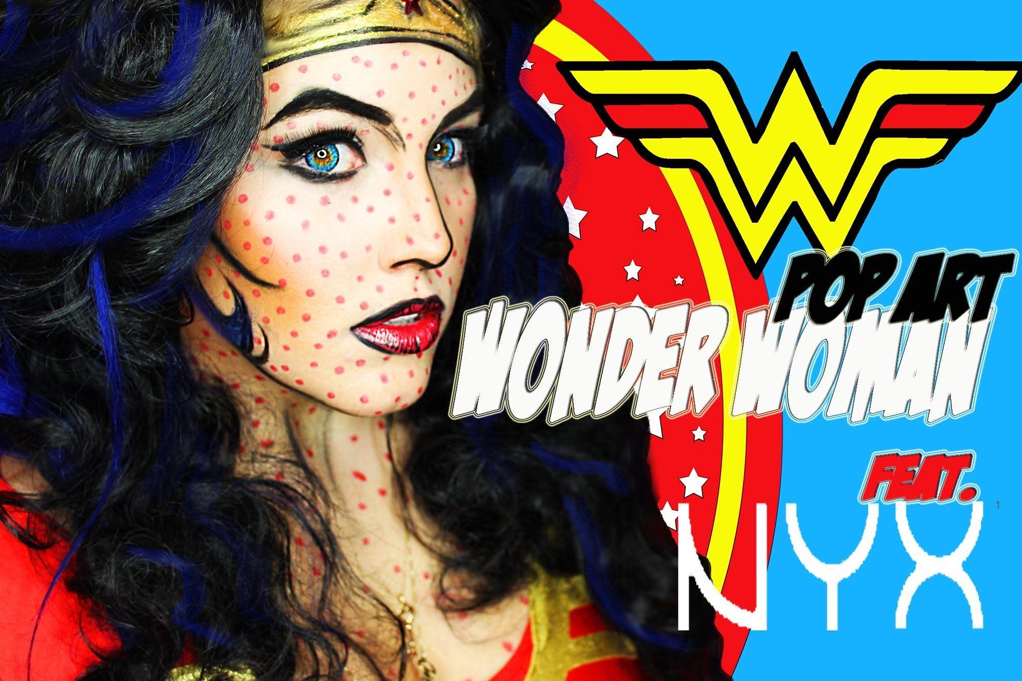 Nyx Face Awards Round 2 1970S Pop Art Wonder Woman -3978
