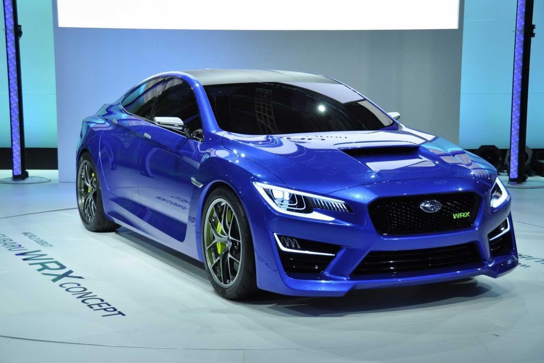 Subaru Impreza WRX 2013 Concept. Nouvelle voiture