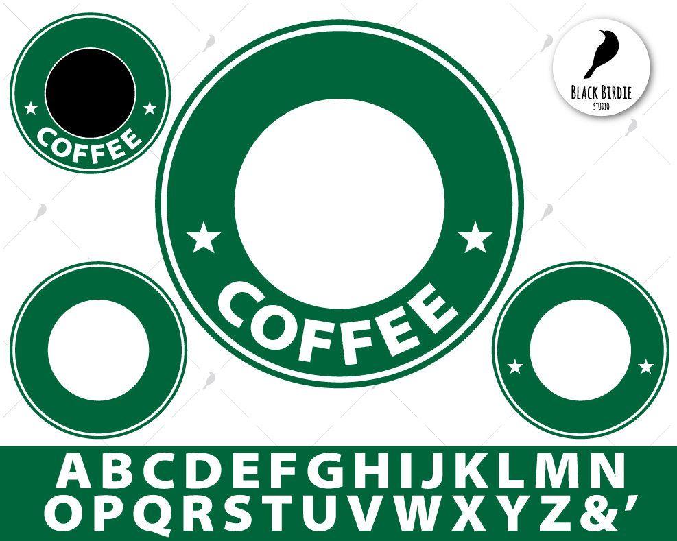 Starbucks Svg Starbucks Clipart Logo Template Svg Coffee Etsy Cricut Coffee Svg Cricut Projects Vinyl
