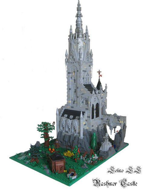 Rashmor Castle #LEGO