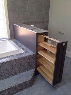 Une séparation douche/baignoire ou douche/wc... bien vu ...