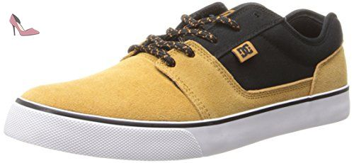 Baskets mode Dc Shoes tonik jaune