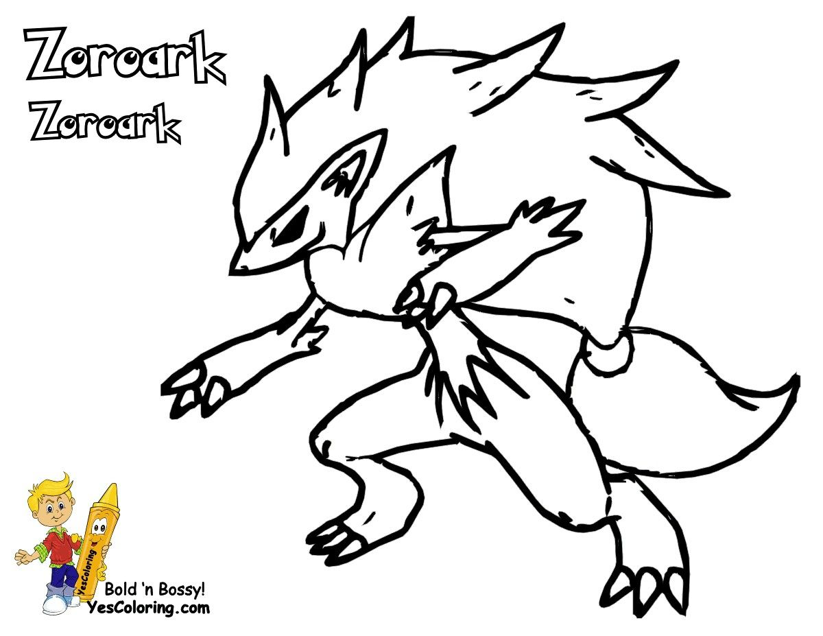 Pokemon Zoroark Coloring Pages From The Thousand Images Online With Regards To Pokemon Zoroark Pokemon Coloring Pokemon Coloring Pages Cartoon Coloring Pages