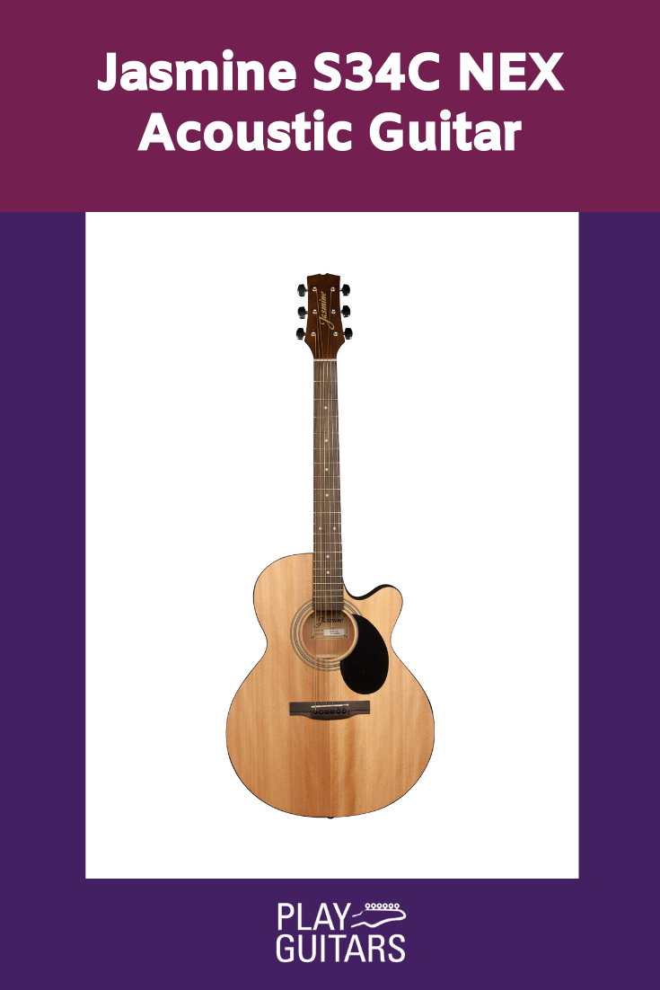Jasmine S34c Acoustic Guitar In 2020 Acoustic Guitar Guitar Acoustic