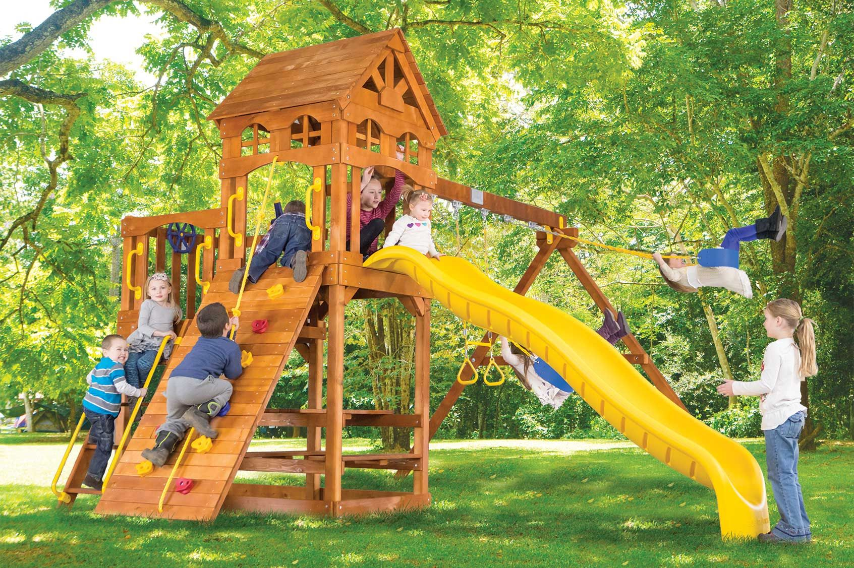 Clubhouse Outdoor Playsets Rainbow Play Systems Rainbow Play