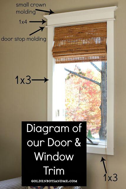 Trim Tutorial My Husband S Very First Post Interior Window Trim Moldings And Trim Window Trim