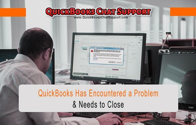 quickbooks window wont close