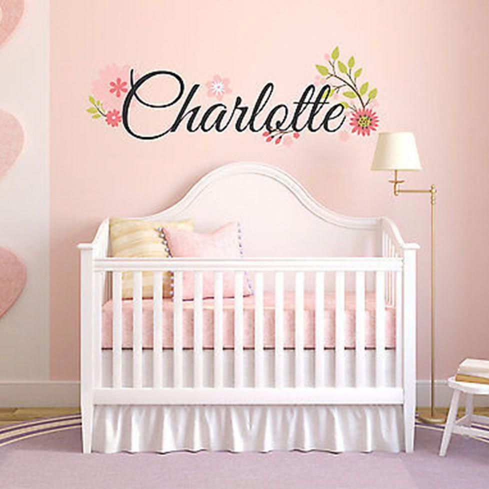 Bedroom Wall Decor Ideas Check Out This Nice Rich Yet Super Captivating Pin Example Number 867669 Nursery Wall Decals Girl Nursery Wall Nursery Wall Stickers